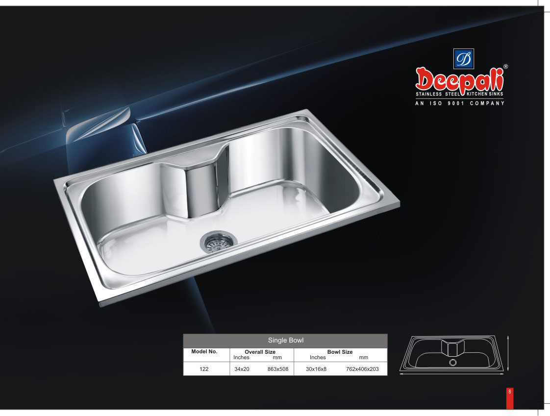 Stainless Steel Kitchen Sink Manufacturers - Deepali Sink