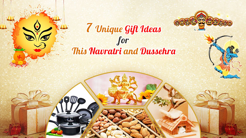 7 Unique Gift Ideas for This Navratri and Dussehra