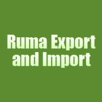 Ruma Export and Import