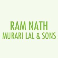 Ram Nath Murari Lal & Sons