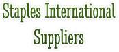 Staples International Suppliers