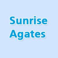 Sunrise Agates